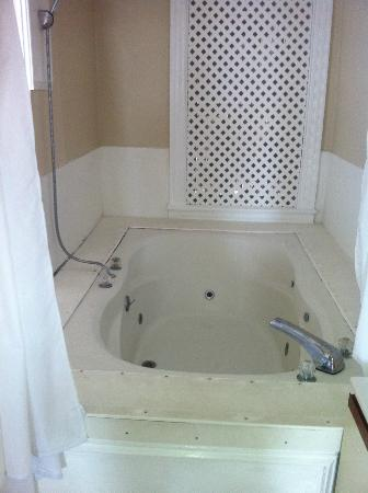 State House Inn: Tub