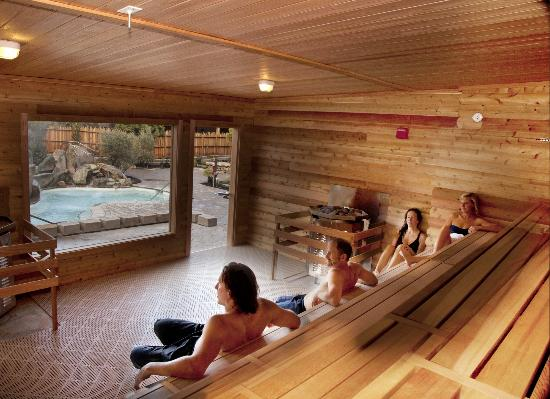 America S Largest Co Ed Cedar Sauna Picture Of Refuge