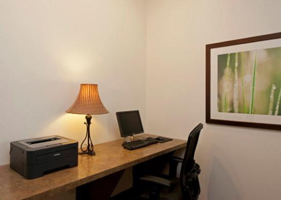 Saginaw Comfort Suites: Business Center Picture