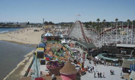 Santa Cruz Beach Boardwalk Hotels On Beach Street