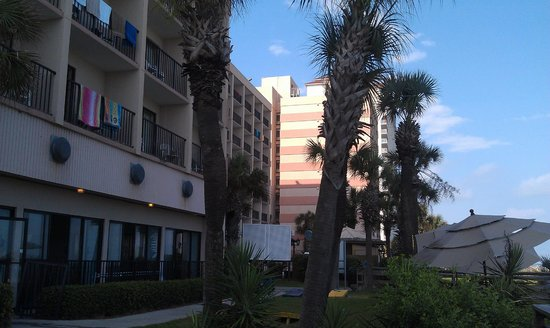 Sandcastle Oceanfront Resort at the Pavilion: View of our Three Towers