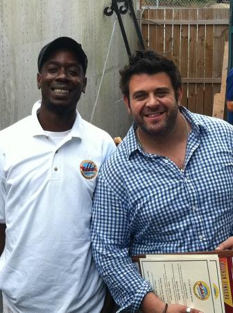 Thunderbolt, จอร์เจีย: Man vs Food with Adam Richman