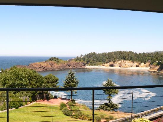 Whale Cove Inn: The view of Whale Cove was spectacular!