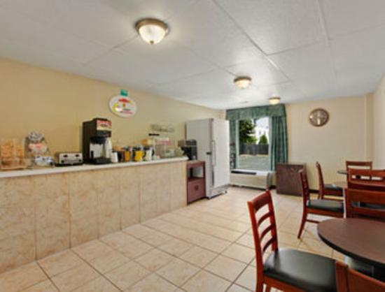 Super 8 Motel Columbus: Breakfast Area