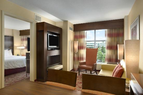Suite Living Room Picture Of Embassy Suites By Hilton