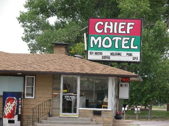 Chief Motel: motel office