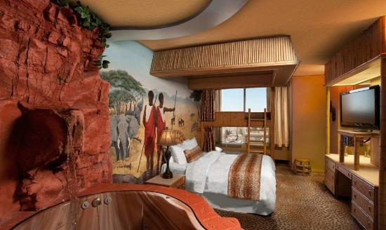 African Luxury Theme Room Picture Of Fantasyland Hotel