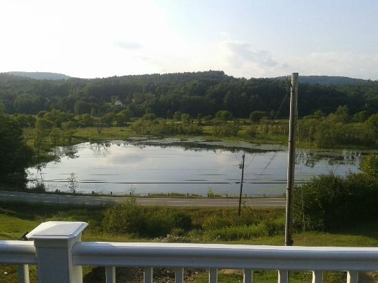 Lisbon, NH: View from the deck
