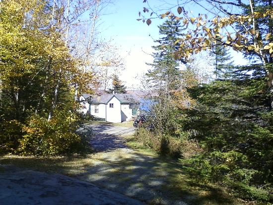 Secret Pond Lodge, Wilson Pond Camps, October 2011.