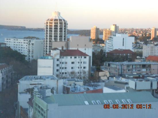 Mercure Sydney Potts Point: view from room 1522