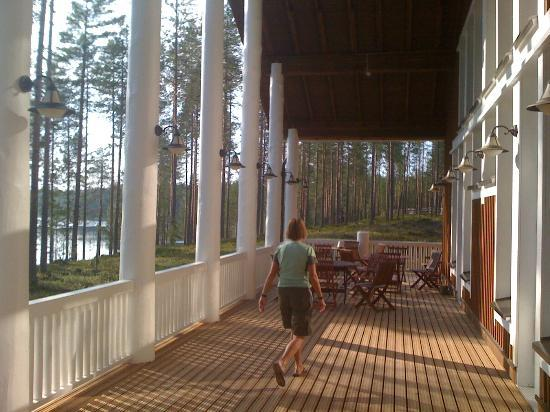 Rautavaara, Finland: Lake view from the dining rooms