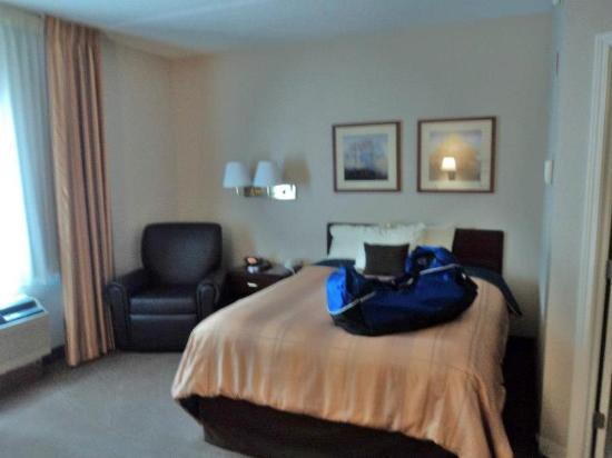 Candlewood Suites Syracuse: The Room