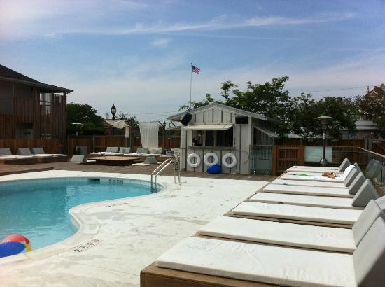 The Montauk Beach House: The pool....