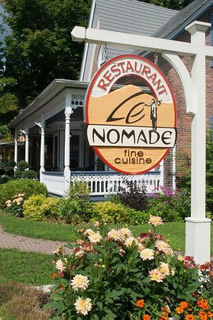 Cowansville, Kanada: Restaurant Le Nomade