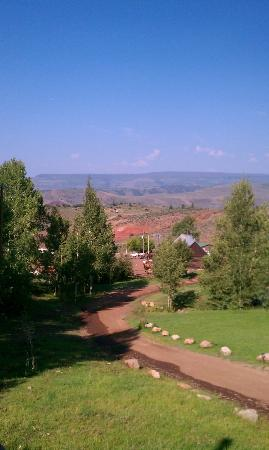 Black Mountain Ranch: View from a cabin
