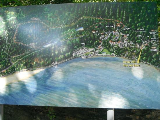 Map Of Portmeirion Picture Of Portmeirion Village