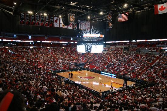 American Airlines Arena - Picture of American Airlines ...