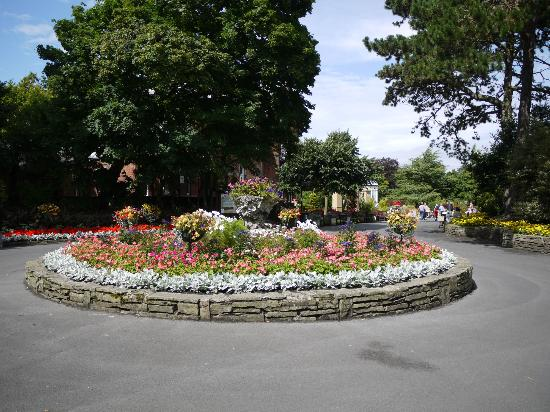 Flower Roundabout Botanic Gardens Southport Picture Of