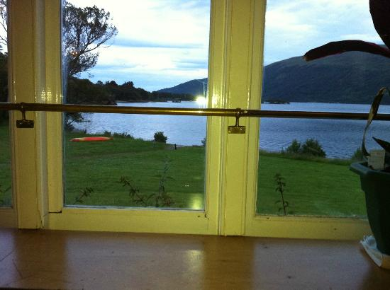 Rowardennan Lodge: View from lounge area