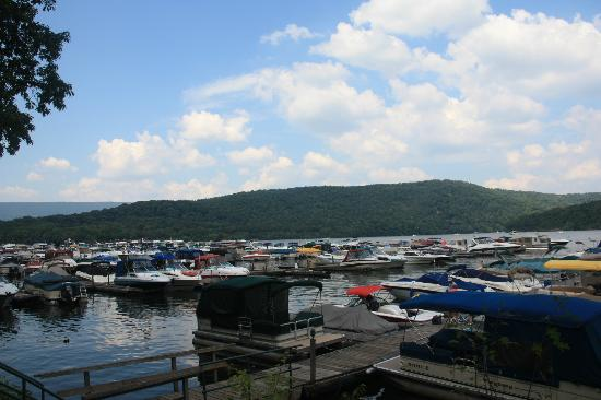 Lake Raystown Resort and Lodge: Marina