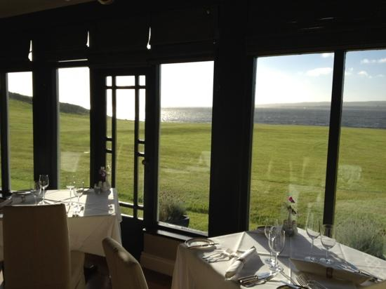 Moy House: view from the dining room