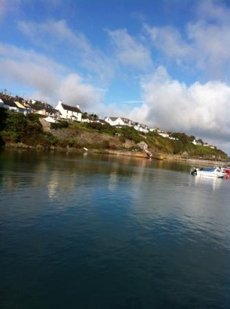 Ballycotton, ไอร์แลนด์: Bayview Hotel from the harbour