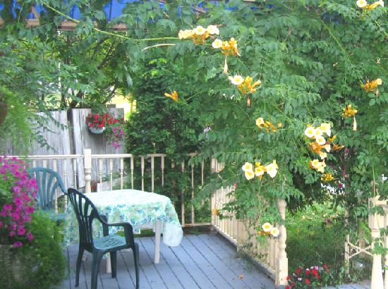 Port Albert Inn and Cottages: Relax on the Sun Porch