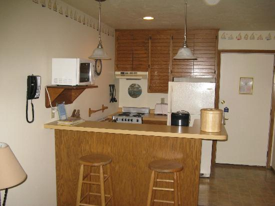 The Landing Resort: Kitchen