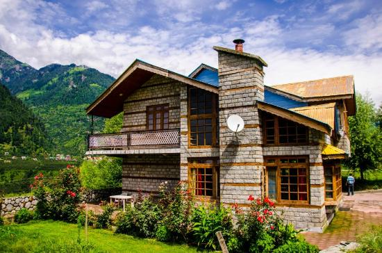 Front view - Picture of Armaan Holiday Cottages, Manali ...: http://www.tripadvisor.com/LocationPhotoDirectLink-g297618-d2243660-i47098044-Armaan_Holiday_Cottages-Manali_Himachal_Pradesh.html
