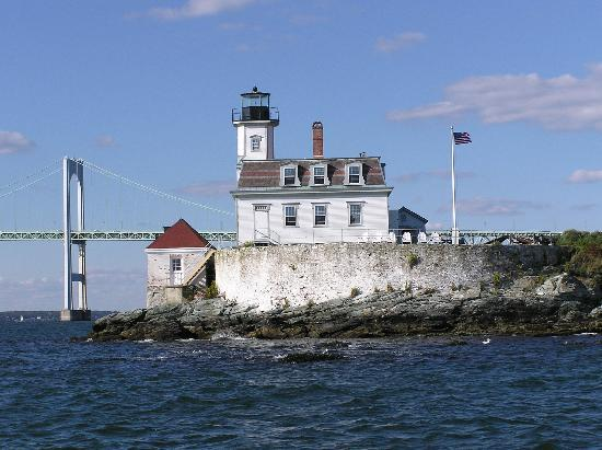 ‪Rose Island Lighthouse‬