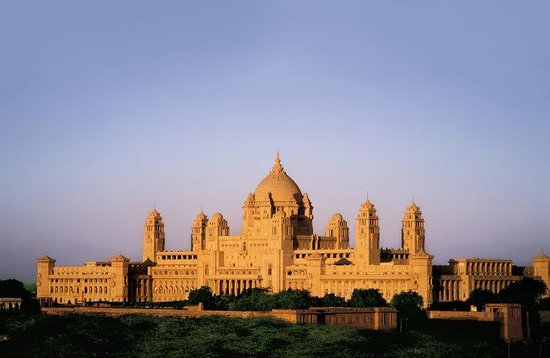 Umaid Bhawan Palace Jodhpur: Palace Exterior
