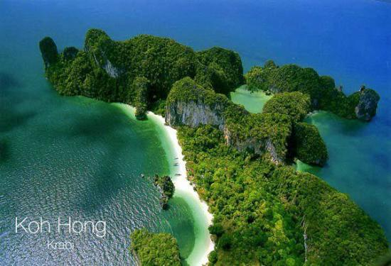 Krabi Province, Thailand: Hong Island / Krabi Thailand