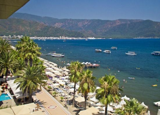 Looking Towards Marmaris City Center Picture Of Malibu