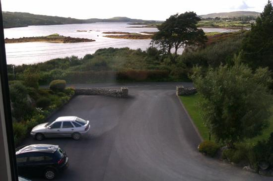 Ardagh Hotel: View from our bedroom