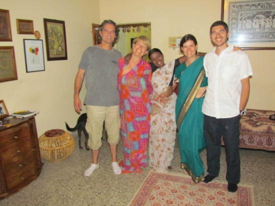 Mysore Bed and Breakfast: Italy week saree session