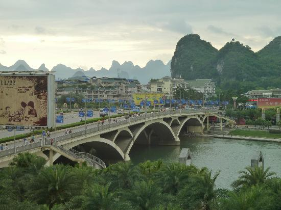 Universal Guilin Hotel: View from our room