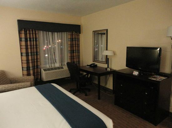 Holiday Inn Express Boston : chambre