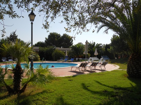 Porto Pino, Italien: villaggio - piscina bimbi