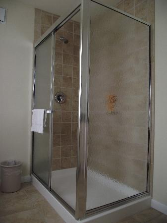 Madison Avenue Beach Club Motel: Large shower