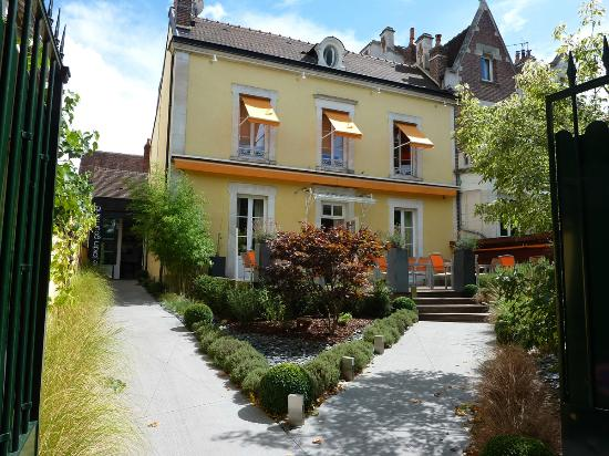vue du restaurant picture of le jardin gourmand auxerre On jardin gourmand