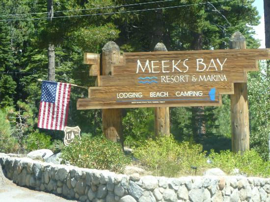 ‪‪Tahoma‬, كاليفورنيا: Meeks Bay entrance