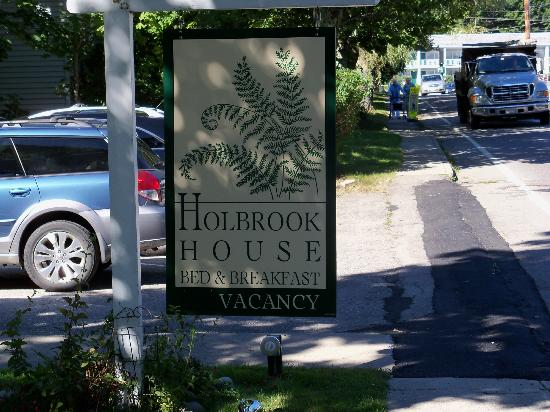 Holbrook House: Front Sign