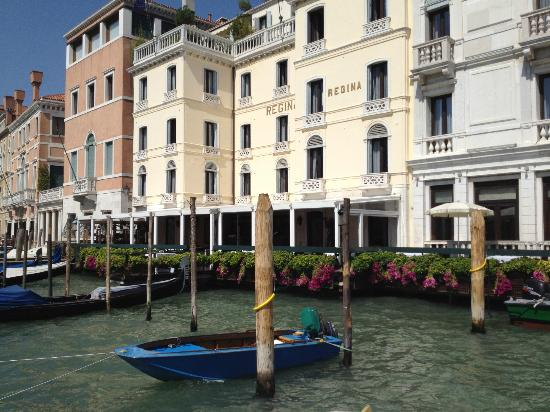 The Westin Europa & Regina, Venice: Arriving at hotel by water taxi