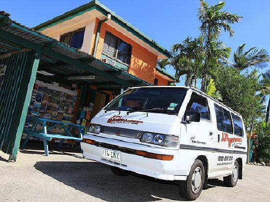 JJ's Backpackers Hostel: Pick up anyone?