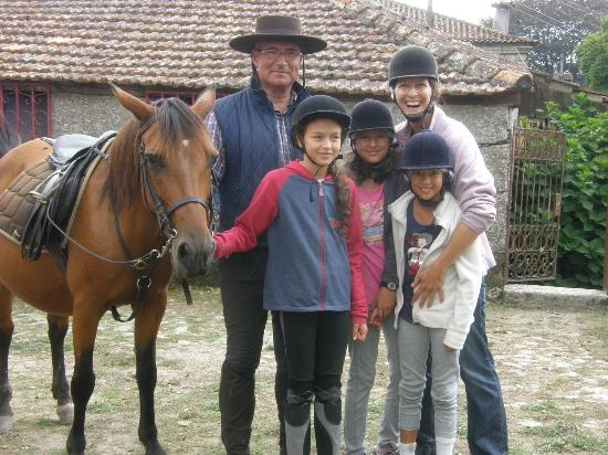 Casa de Requeixo: With Luis and Beatrice our riding leaders