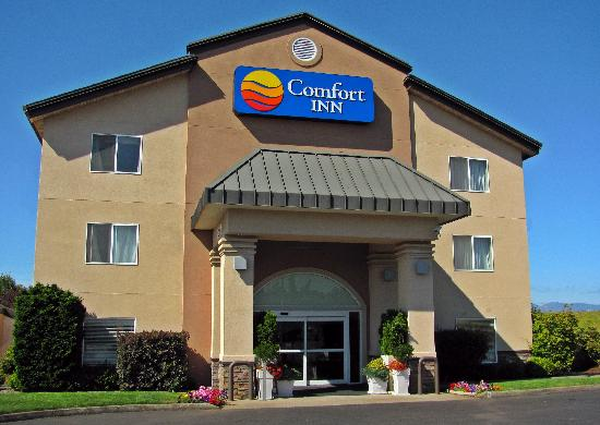 Comfort Inn Columbia Gorge Gateway: We look forward to you being here.