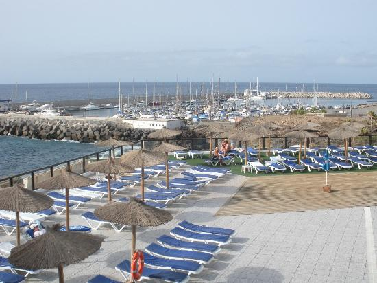 Aguamarina Golf Hotel: View from Apartments pool