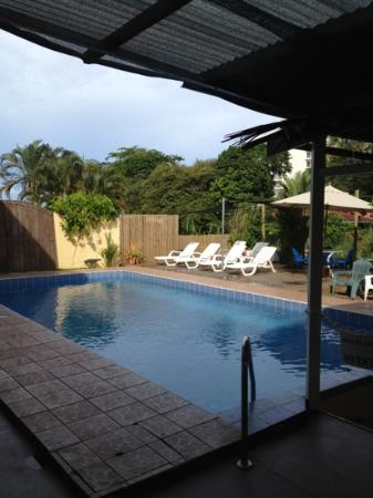 Posada Jaco: the pool deck