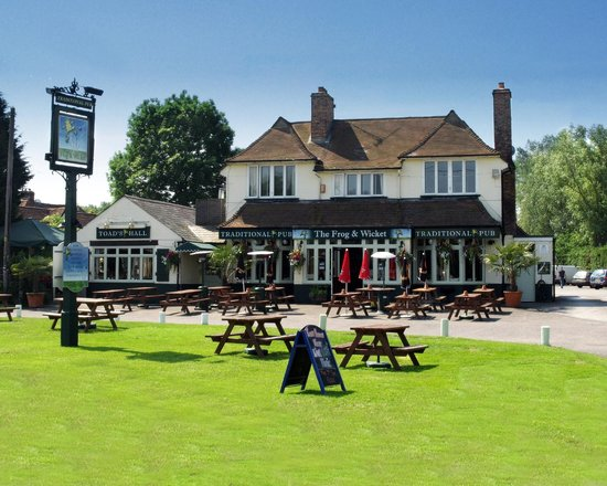 Eversley United Kingdom  City new picture : The Frog & Wicket, Eversley Cross Restaurant Reviews, Phone Number ...