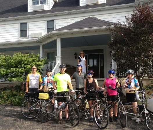 Inn At Lenora's: great GAP riders